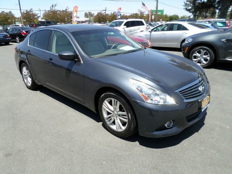 2012 INFINITI G37 SEDAN JOURNEY 4DR SEDAN gray clean family car 2-stage unlocking doors