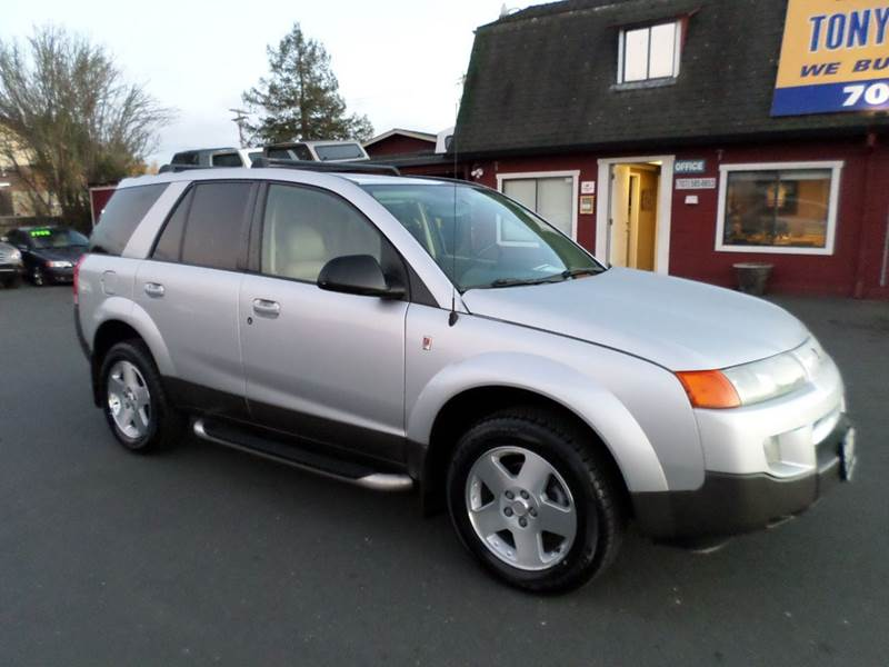 2004 SATURN VUE BASE AWD 4DR SUV V6 silver abs - 4-wheel anti-theft system - alarm center conso