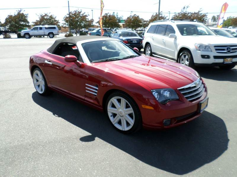 2005 CHRYSLER CROSSFIRE LIMITED 2DR ROADSTER red only27484 miles clean conv vehicle