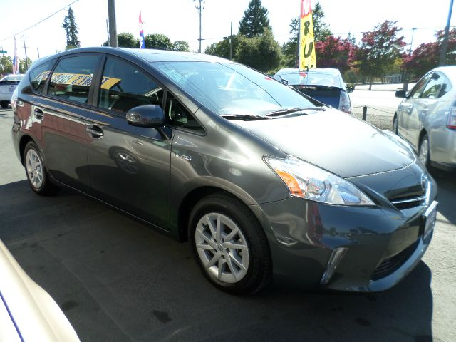 2012 TOYOTA PRIUS V THREE 4DR WAGON gray 1 owner 2-stage unlocking abs - 4-wheel air filtration