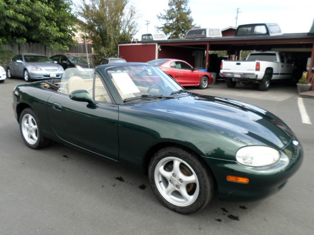 1999 MAZDA MX-5 MIATA BASE 2DR STD CONVERTIBLE green alloy wheels center console front air condi