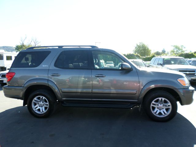 2005 TOYOTA SEQUOIA SR5 4DR SUV gray abs - 4-wheel alloy wheels anti-theft alarm system anti-t