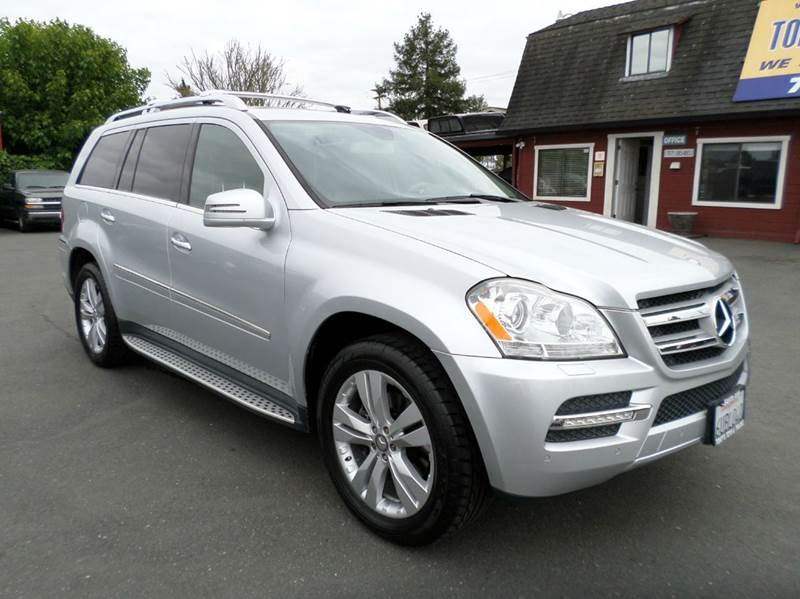 2011 MERCEDES-BENZ GL-CLASS GL 450 4MATIC AWD 4DR SUV silver 3rd row seating navigation