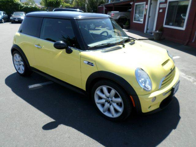 2004 MINI COOPER S 2DR HATCHBACK yellow panorama roof 17 inch wheels abs - 4-wheel clock exter