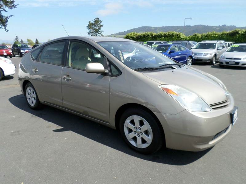2005 TOYOTA PRIUS BASE 4DR HATCHBACK brown one owner vehicle abs - 4-wheel center console -