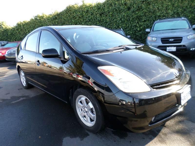 2005 TOYOTA PRIUS BASE 4DR HATCHBACK black new tires navigation abs - 4-wheel cente
