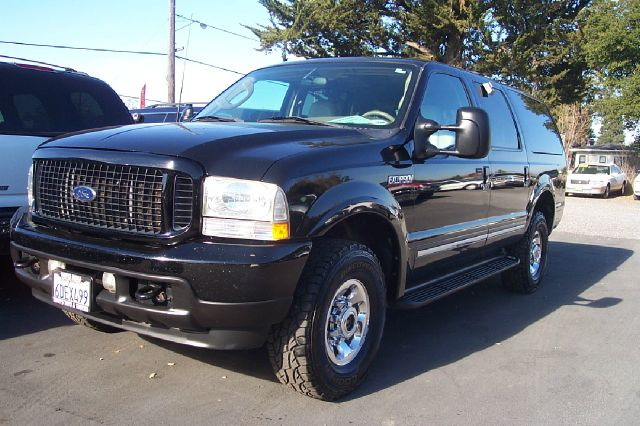 2003 FORD EXCURSION LIMITED 60L 4WD black diesel 4wdawdabs brakesadjustable foot pedalsair co