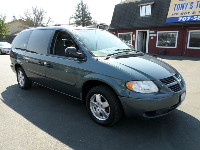2006 DODGE GRAND CARAVAN SE 4DR EXTENDED MINI VAN lt blue stow-n go seating 7 pass seating