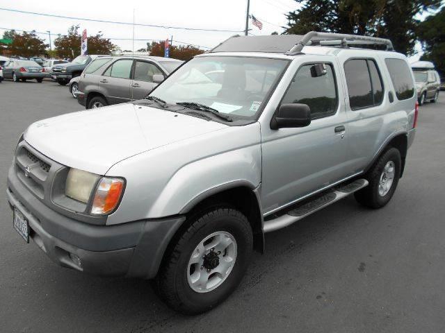 2000 NISSAN XTERRA SE 4DR 4WD SUV silver abs - 4-wheel anti-theft system - alarm axle ratio - 4