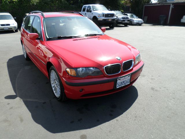 2003 BMW 3 SERIES 325XI AWD 4DR SPORT WAGON red abs - 4-wheel center console cruise control day