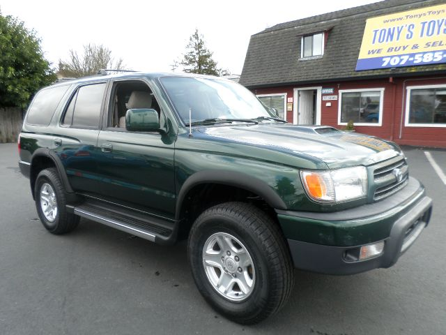 1999 TOYOTA 4RUNNER SR5 4DR 4WD SUV green 4-speed automatic transmission abs - 4-wheel alloy whe