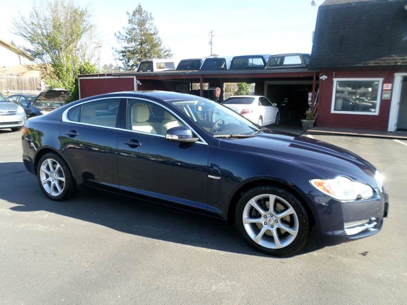2009 JAGUAR XF LUXURY 4DR SEDAN blue really clean car low mileageclean carfax 2-stage un