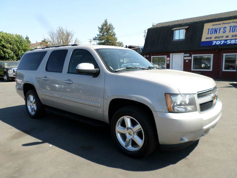 2007 CHEVROLET SUBURBAN LT 1500 4DR SUV 4WD gold new tires 2-stage unlocking doors 4wd se