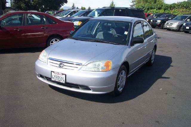 2002 HONDA CIVIC LX 4DR SEDAN WSIDE AIRBAGS unspecified 1 owner 26 service records timing belt