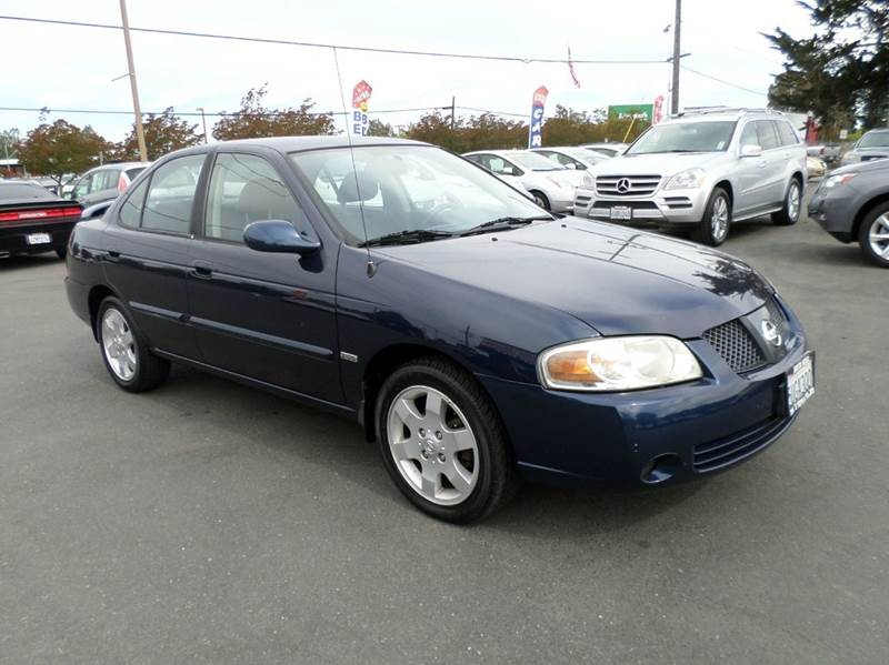 2006 NISSAN SENTRA 18 S 4DR SEDAN WAUTOMATIC blue cargo area light center console - front cons