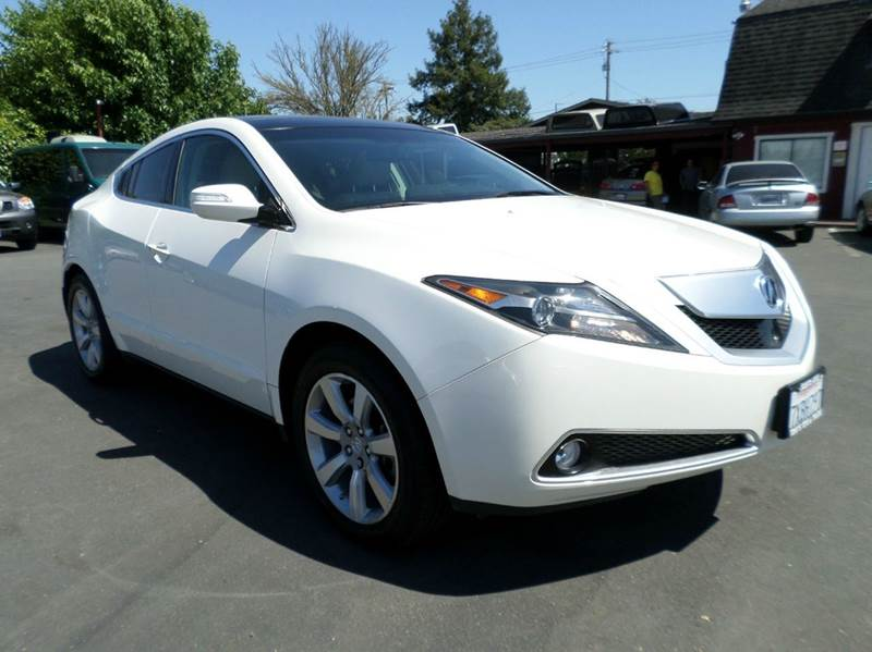 2010 ACURA ZDX SH AWD WADVANCE 4DR SUV PACKAGE white awdnew tiresone owner 4wd type