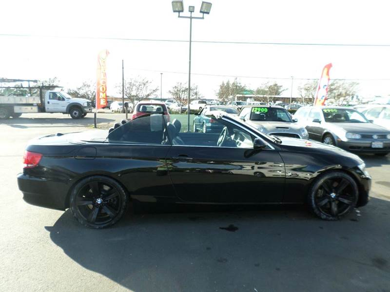 2008 BMW 3 SERIES 335I 2DR CONVERTIBLE black new tires convertible 2-stage unlocking do