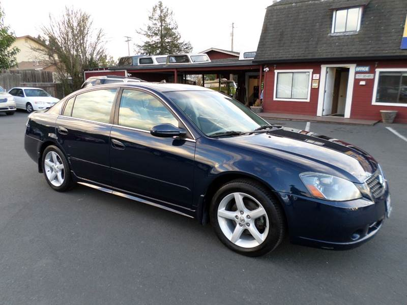 2006 NISSAN ALTIMA 35 SE 4DR SEDAN WAUTOMATIC blue one owner vehicle abs - 4-wheel air fi