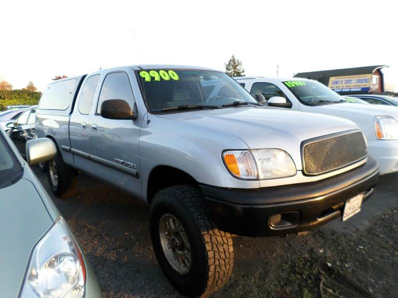 2000 TOYOTA TUNDRA SR5 4DR V8 4WD EXTENDED CAB SB silver timing belt  water pump done new