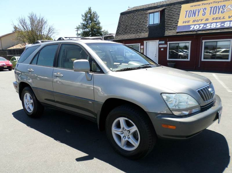 2001 LEXUS RX 300 BASE 2WD 4DR SUV gray new tires abs - 4-wheel anti-theft system - alar