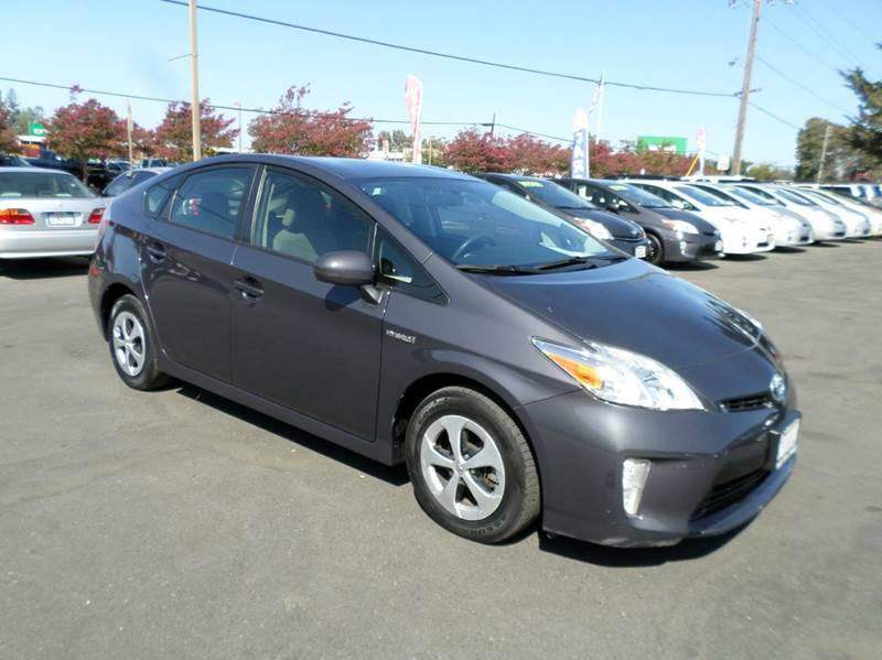 2013 TOYOTA PRIUS TWO 4DR HATCHBACK gray new tires 2-stage unlocking doors abs - 4-wheel