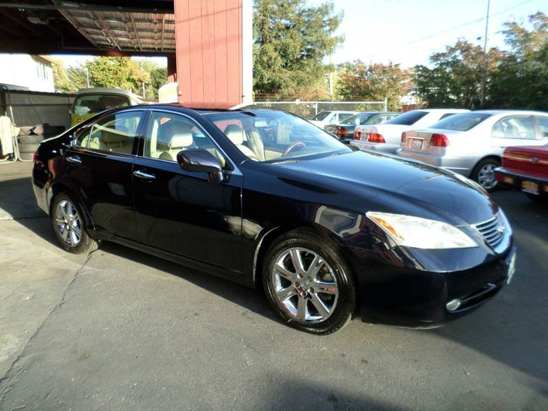 2007 LEXUS ES 350 BASE 4DR SEDAN blue 2-stage unlocking doors abs - 4-wheel air filtration air