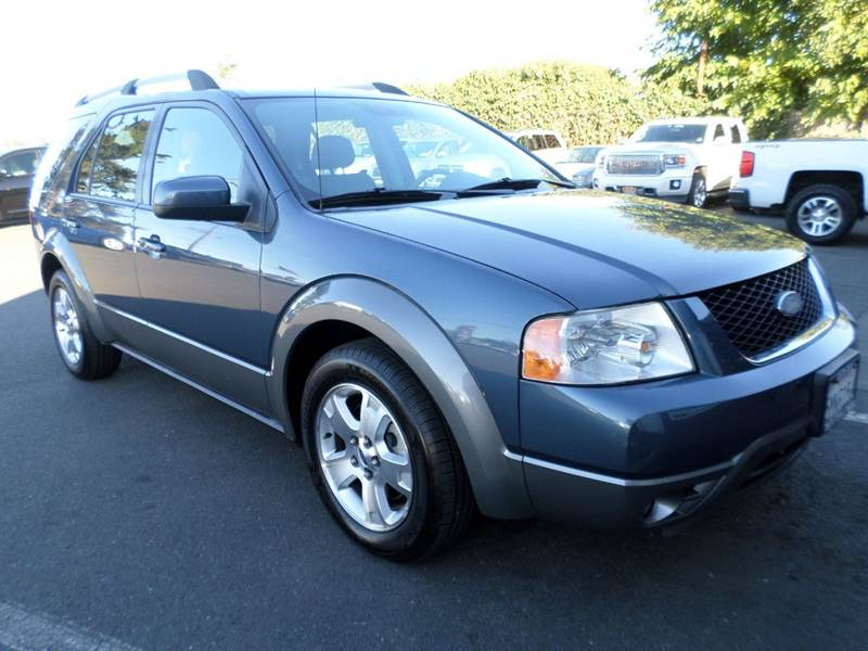 2005 FORD FREESTYLE SEL 4DR WAGON lt blue 7 passanger vehicle abs - 4-wheel axle ratio - 5