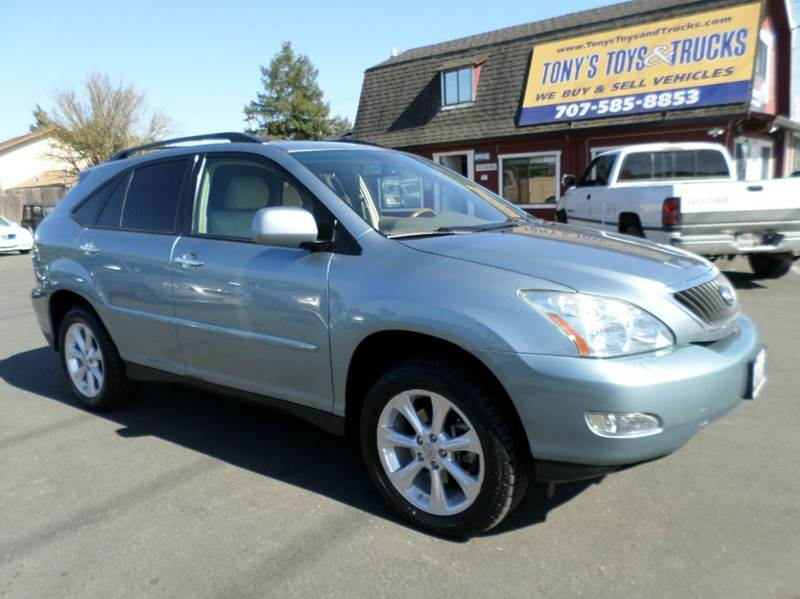 2009 LEXUS RX 350 BASE AWD 4DR SUV lt blue awdnew tires 2-stage unlocking doors 4wd t
