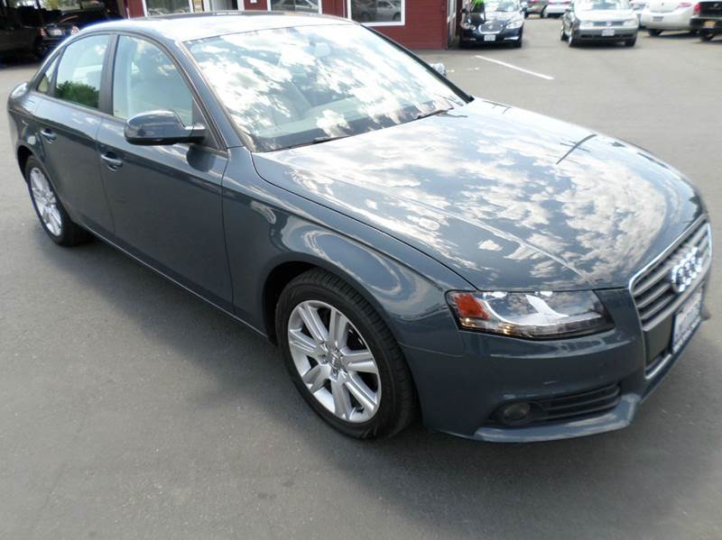 2010 AUDI A4 20T PREMIUM 4DR SEDAN gray 2-stage unlocking - remote abs - 4-wheel active head r