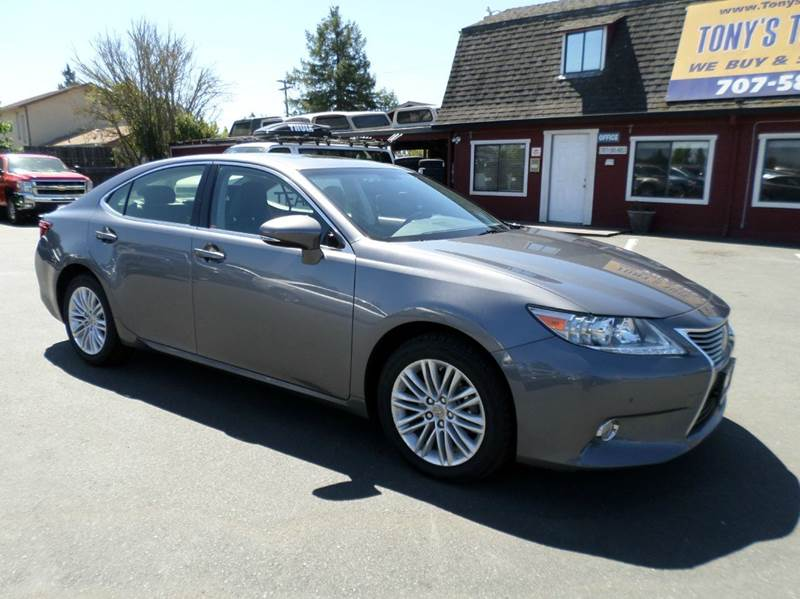 2014 LEXUS ES 350 BASE 4DR SEDAN gray 2-stage unlocking doors abs - 4-wheel air filtration airb