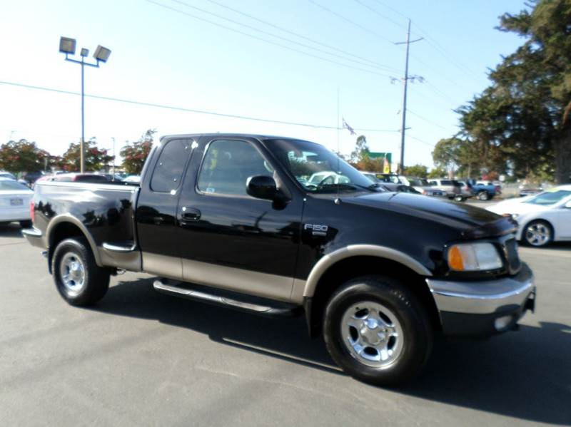 2001 FORD F-150 LARIAT 4DR SUPERCAB 4WD FLARESID