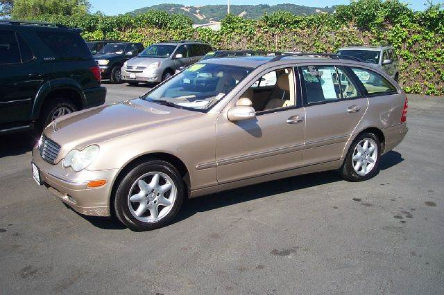 2003 MERCEDES-BENZ C-CLASS C320 4DR WAGON gold 1 owner abs - 4-wheel alloy wheels anti-theft sys