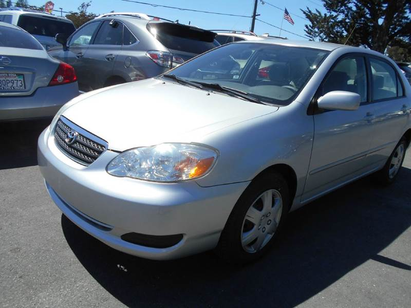 2007 TOYOTA COROLLA LE 4DR SEDAN 18L I4 4A silver one owner vehicle 2-stage unlocking d