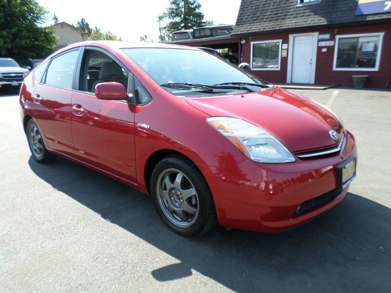 2007 TOYOTA PRIUS TOURING 4DR HATCHBACK red back up camera jbl audio new tires 2-