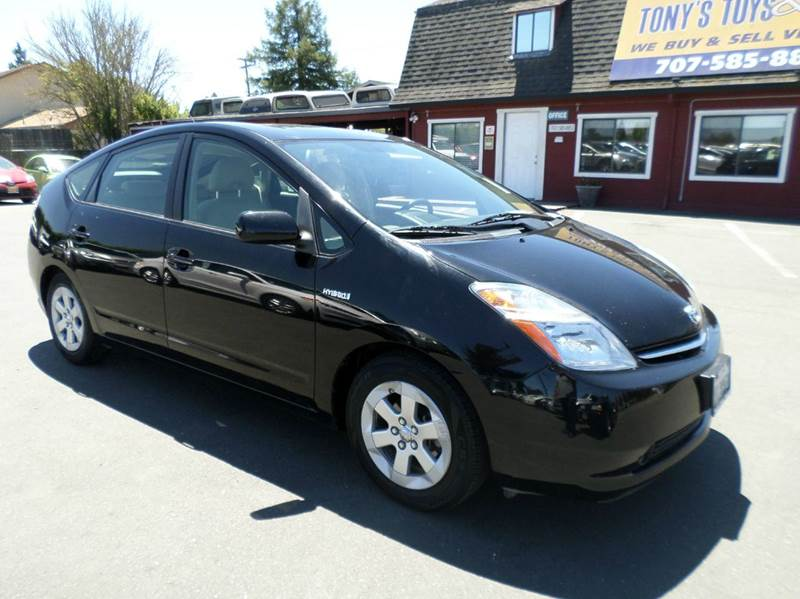 2008 TOYOTA PRIUS TOURING 4DR HATCHBACK black one owner vehicle 2-stage unlocking doors abs