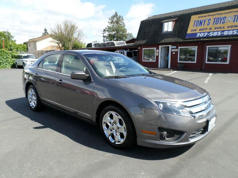 2011 FORD FUSION SE 4DR SEDAN gray 2-stage unlocking doors abs - 4-wheel air filtration airbag