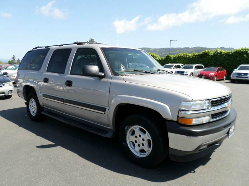 2005 CHEVROLET SUBURBAN 1500 LT  4DR SUV gold abs - 4-wheel adjustable pedals - power antenna t