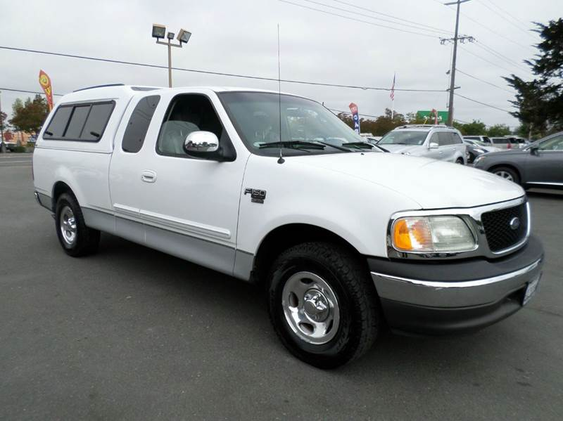 2002 FORD F-150 XLT 4DR SUPERCAB 2WD STYLESIDE S