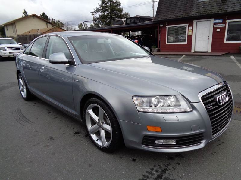 2010 AUDI A6 30T QUATTRO PREMIUM PLUS AWD 4D silver 2-stage unlocking doors 4wd type - full time