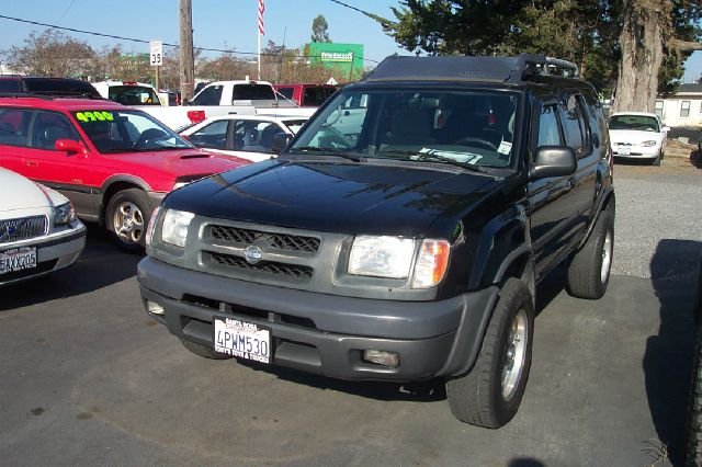 2001 NISSAN XTERRA SE 2WD black abs brakesair conditioningalloy wheelsamfm radioanti-brake sy