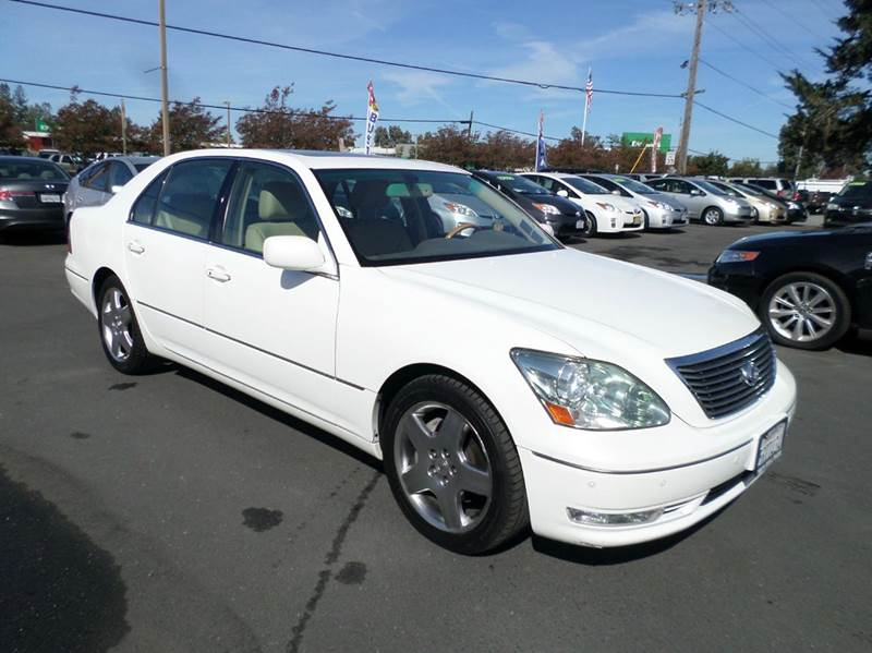 2006 LEXUS LS 430 BASE 4DR SEDAN white navigation one owner vehicle abs - 4-wheel a