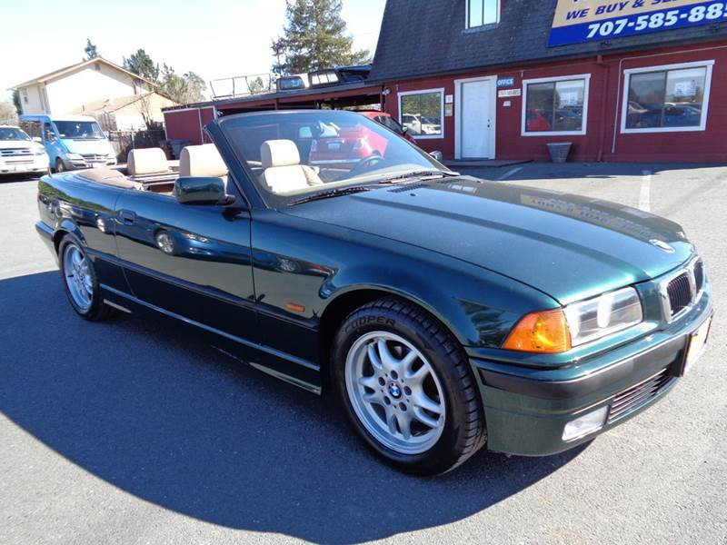 1999 BMW 3 SERIES 323I 2DR CONVERTIBLE green one owner vehicle new tiresconvertible ab