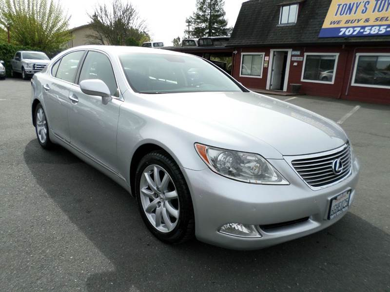 2008 LEXUS LS 460 BASE 4DR SEDAN silver navigation new tires new brakes 2