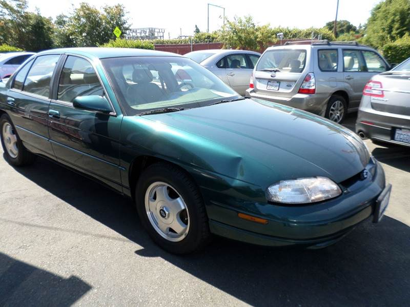 1998 CHEVROLET LUMINA LTZ 4DR SEDAN green clean vehicle 38l v6 ohv 12v fi engine abs - 4-