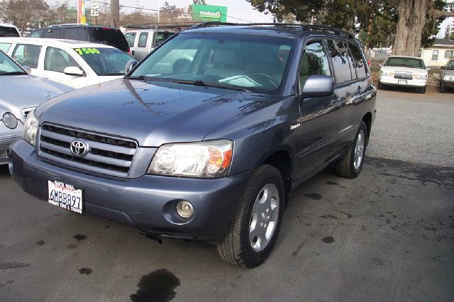 2005 TOYOTA HIGHLANDER LIMITED V6 4WD blue 4wdawdabs brakesair conditioningalloy wheelsamfm
