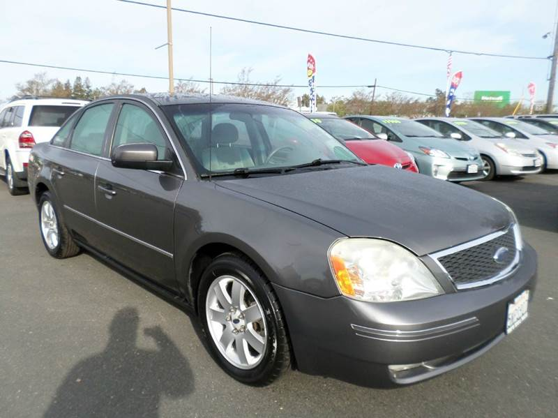 2005 FORD FIVE HUNDRED SEL 4DR SEDAN gray new tires abs - 4-wheel anti-theft system - alarm