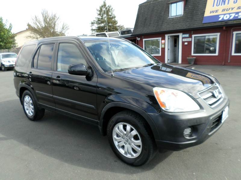 2006 HONDA CR-V EX AWD 4DR SUV WMANUAL black manual 5sp 4wd type - on demand abs - 4-wheel