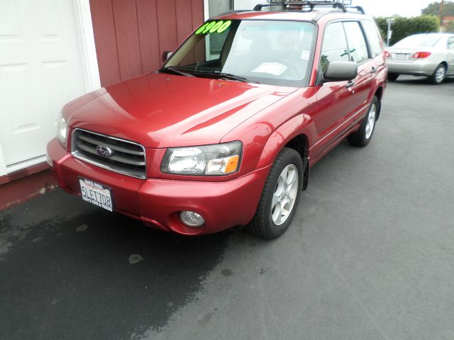 2003 SUBARU FORESTER XS AWD 4DR WAGON burgandy abs - 4-wheel cd changer center console clock c