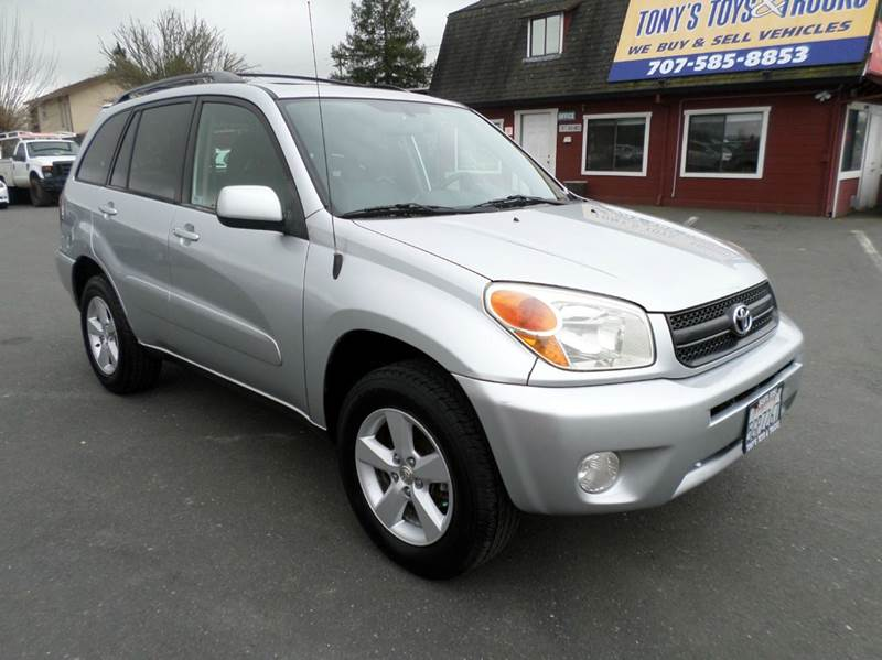 2004 TOYOTA RAV4 BASE AWD 4DR SUV silver one owner vehicle awd 5sp manual abs - 4-wh