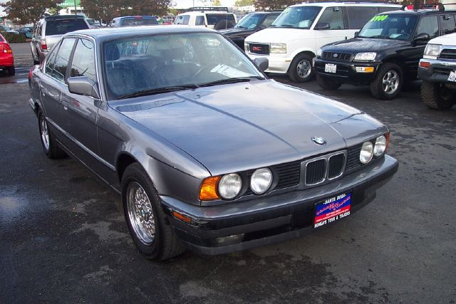 1992 BMW 5 SERIES 535I grey abs brakesair conditioningalloy wheelsanti-brake system 4-wheel ab